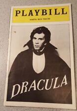 Frank Langella DRACULA  Playbill   1978