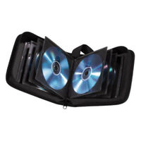 40 Space CD DVD Bluray Discs Protective Carry Case Holder Storage Bag Wallet