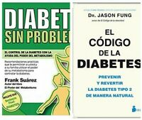 """EL CODIGO DE LA DIABETES+DIABETES SIN PROBLEMA!!"""""""" LIBRO DIGITAL ENVIO EMAIL"""