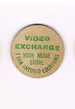 Vintage Wooden Nickel Video Exchange Your Movie Store 7 San Antonio Locations