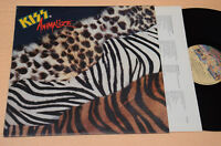 KISS LP ANIMALIZE 1°ST ORIG ITALY NM ! CON INNER TESTI AUDIOFILI TOP NM !!!!!!!
