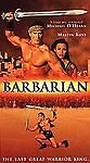 Barbarian VHS Video Tape Movie