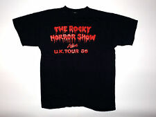 Vintage The Rocky Horror Show Alive UK tour shirt 1986