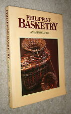 Philippine Basketry an Appreciation,Lane,Vg/G,Hb ,1986,First b11