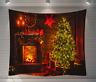 Weihnachten Wandbehang Tapisserie Wandteppich Wandverzierung Deko 200x150cm