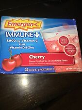 Emergen-C Immune+ Vitamin C, Plus D And Zinc (30 Count, Cherry Flavor) May/2022