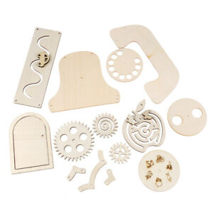 Busy Board Diy Accessories Material Busyboard Childhood Education Wooden ToyYZY