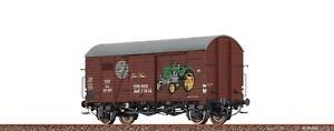 """Brawa 47987 gedeckter Güterwagen Gms  """"Steyr Puch"""" der ÖBB - AC #NEU in OVP#"""