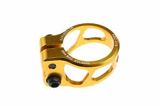 Mowa 7075 Alloy Road MTB Mountain Bike Seatpost Clamp 31.8mm Gold