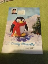ALAN DART STYLE CHILLY CHARLIE PENGUIN BY AMANDA BERRY KNITTING PATTERN BN
