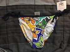 BNWT Womens Body Glove Swimsuit Bikini Bottom XS Print Xtra Small Navy