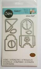 Pocket, Bookmark, Tag, Mini Envelope Sizzix Framelits 8 Piece Die Set