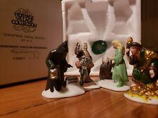 Dept 56 Heritage Village Collection Christmas Carol Spirits Set Of 4