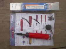 SHAVIV Deburring Tool, Set E, E100,E200,E300, Straight Edge, Hole Inner edges