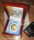 500 Piso Pope Francis Papal Peso Commemorative Coin in Wooden Box