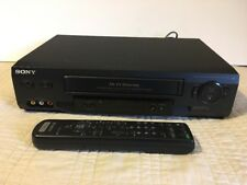 New listing Sony Slv-N51 Vhs Hi-Fi Stereo Vcr W/ Remote Control Good Cond. Tested