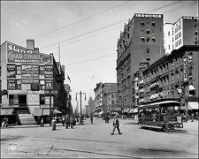 Buffalo New York #1 Photo 8X10 - Main Street 1900