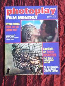 PHOTOPLAY - UK FILM MAG - MAR 1976 - JAMES CAAN- RYAN ONEAL- MICHAEL CAINE