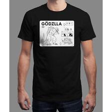 "Gojira Kaiju ""Make Your Own Godzilla"" Qwertee Limited Edition Tee T-shirt Mens S"