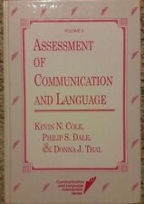 Assessment of Communication and Language volume 6