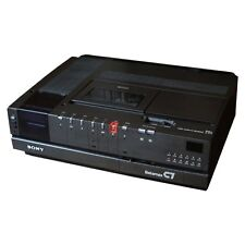 SONY BETAMAX VIDEO RECORDER C7 SELLING AS UNTESTED