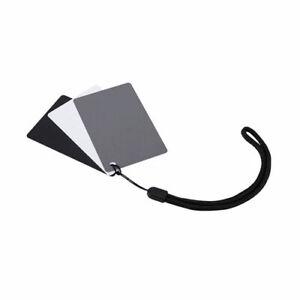 GC-2 Gray Card White Balance Card Set Small Portable 8.5x5.4cm color correction
