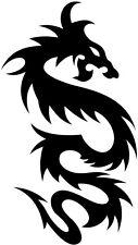 12in tribal dragon vinyl car van boat sticker graphic decal silhouette wall art