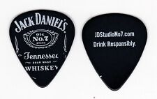 JACK DANIELS LOGO GUITAR PICK BLACK