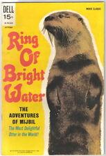 Ring of Bright Water Movie Comic Dell 1969 FINE/FINE+