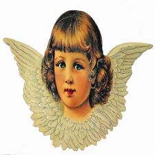 Large Victorian Angel Christmas Ornament Factory Sealed Mint Shackman