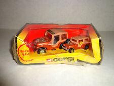 Corgi Special Value Pack 1981 Golden Eagle Jeep mib