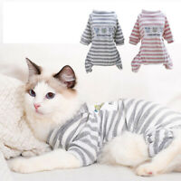 Cat Puppy Knitwear Winter Rompers Jumpsuit Costume Dog Pajamas Pet Clothes