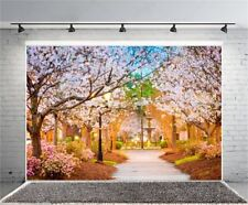 Photography Cherry Blossoms Flower Backdrop 7x5ft Vinyl Photo Background Studio