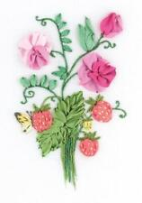 Panna Silk Ribbon Embroidery Kit - JK-2136 The Charms of Summer - Butterfly, str