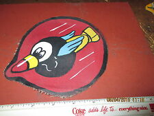 WWII USAAF 66 TH BOMB SQDN 44 BG 8 AAF FLYING EIGHT BALLS   FLIGHT JACKET  PATCH