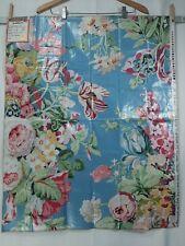 New listing Brunschwig & Fils fabric sample, Westbury Bouquet Glazed Chintz,mauve &wedgewood