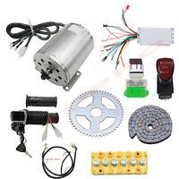 48V 1800W Electric Brushless DC Motor 4500RPM & Controller Kit Go Kart eBike ATV