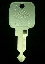 RN24 PEUGEOT & RENAULT early 1980's Ignition KEY Blank 505 604 18i Fuego LeCar