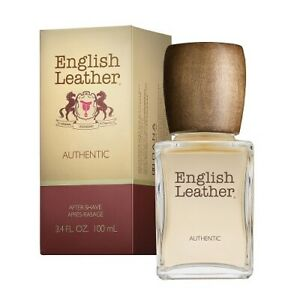 Dana English Leather Authentic After Shave, 3.4 oz