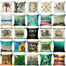 Soft Natural Linen Cotton FashionThrow Pillow Case Cushion Cover Home Sofa Decor