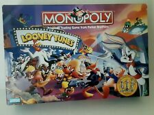MONOPOLY 1999 Looney Tunes Limited Collector's Edition Board Game Complete Toys