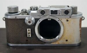 Vintage 1938 Leica III Model F 35mm Film Camera s/n 306960