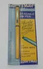 Paper Mate 1978 Gillette Eraser Mate Sealed In Package Yellow