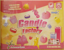 Science4You ~ Candle Factory Kit ~ 16 Experiments & 36 Page Educational Book