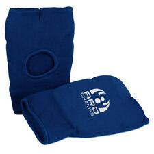 Elastic Karate Mitts Boxing Gloves Martial Training Pinching Fist BLUE Senior
