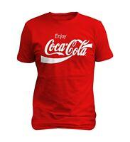 Coca Cola Enjoy Logo Men  T-shirt