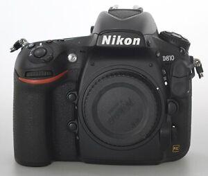 Nikon D810 body, Low Shutter Count 5688, 2 memory cards, 2 batteries