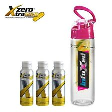 THREE (3) MONTHS ZERO XTREME XTRA GOLD  DETOX WEIGHT LOSS FAT BURNER + INFUSER