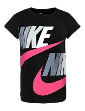Nike Little Girls Futura Logo-Print Cotton T-Shirt Size 4