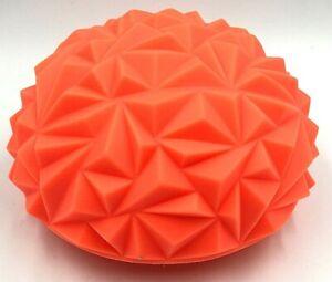 Yoga Half Ball Water Cube Children Sense Training Diamond Pattern Massage Ball